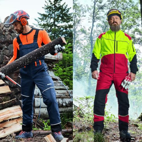 Spodnie do pracy w lesie – codziennie decydujesz o swoim bezpieczeństwie